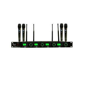میکروفن بی سیم چهار کانال ساندکو مدل EU-4400H