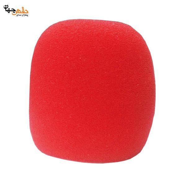 فیلتر میکروفن پرو قرمز بسته 5 عددی