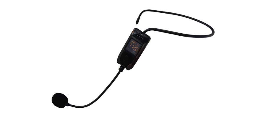 روش همگام سازی میکروفن هدمیک Soundco مدل UPC-1250 با پورت USB-6